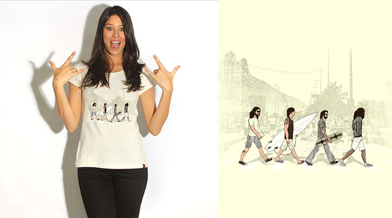 Come Together: camiseta estampada do Camiseteria.com