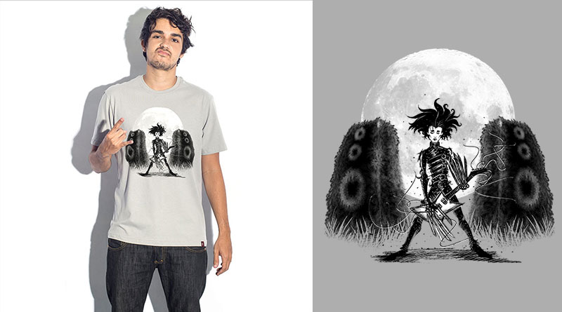 Eu Quero é Rock: camiseta estampada do Camiseteria.com