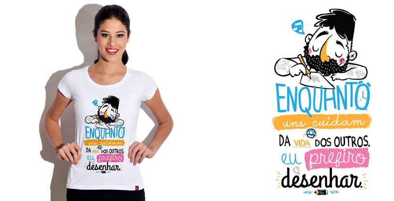 Prefiro: camiseta estampada do Camiseteria.com