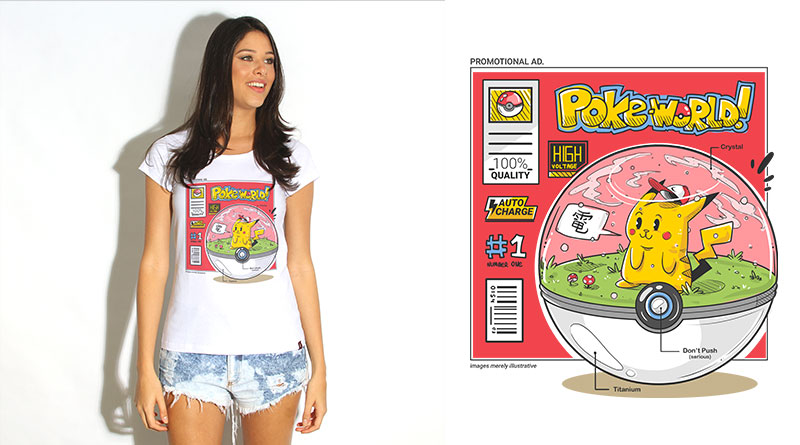Pokeworld: camiseta estampada do Camiseteria.com