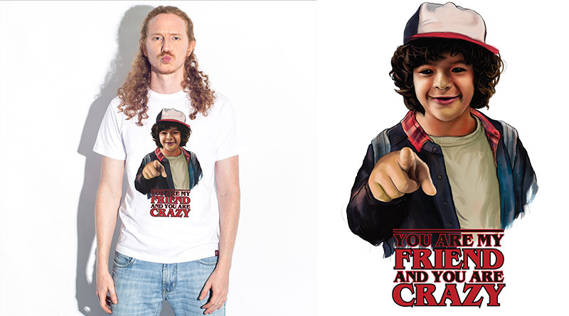 Crazy Friends: camiseta estampada do Camiseteria.com